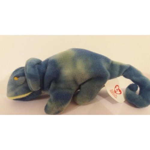 89af7cf1c43 Rainbow the Chameleon - Ty Beanie Baby (Blue) on OnBuy