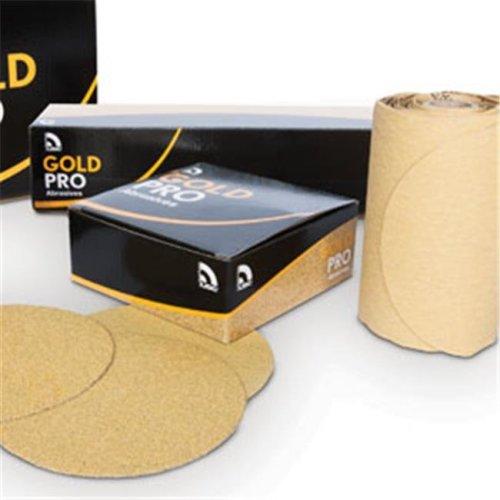 U. S. Chemical & Plastics USC-082419 6 in. Gold Paper Flat - PSA P800