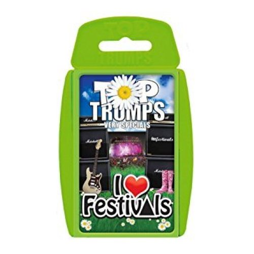 I Love Festivals Top Trumps Family Card Game Brand New Sealed