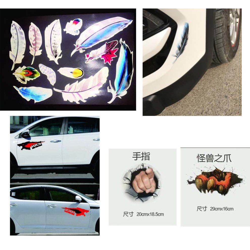 Car sticker decorative cover scratches modified car stickers 6 1