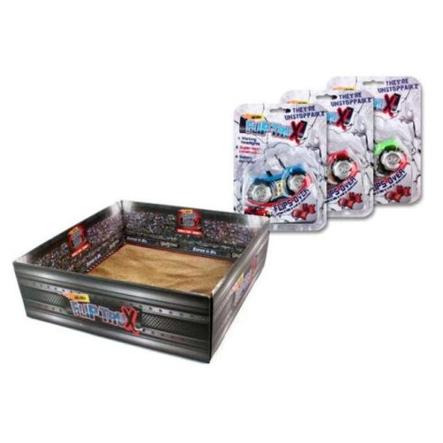 Micro Flip Trux FBU005 Assorted Toy Truck - pack of 12