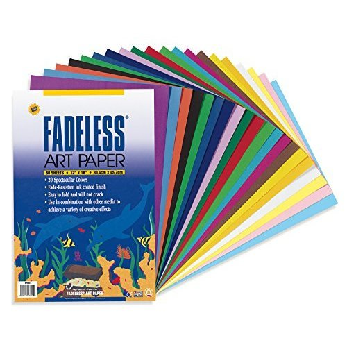 Pacon Assorted Fadeless R Sheets 12 x 18 Pack Of 60