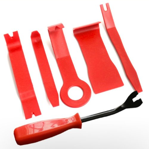 6 Pieces Car Trim Removal Tools, Car Trim Removal Tool Panel Removal Tool  kit for Removing Door Panel Audio Refitting Scratch Upholstery Prying Kit