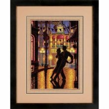 D35248 - Dimensions Counted X Stitch - Gold, Midnight Dance