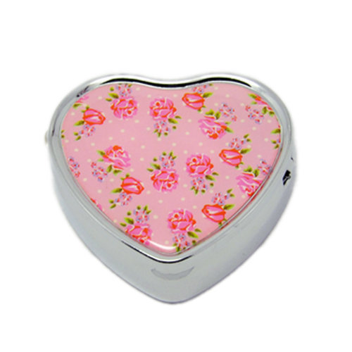 Pill Box For Pocket or Purse/ Multifunction Small Jewel Box Case  T
