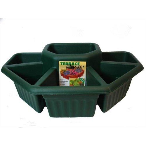 60Cm Green Terrace Planter