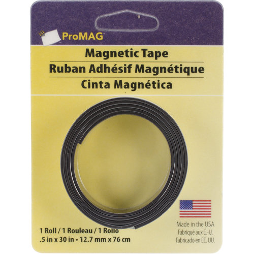 """Promag Adhesive Magnetic Tape-.5""""X30"""""""