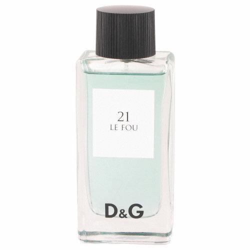 Le Fou 21 by Dolce & Gabbana Eau De Toilette spray (Tester) 3.3 oz