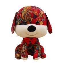 Cute Cartoon Dog Creative Beautiful Plush Toy Doll Gift Doll [A]