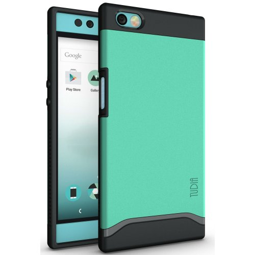 detailed look 00986 44613 TUDIA Slim-Fit HEAVY DUTY [MERGE] EXTREME Protection / Rugged but Slim Dual  Layer Case for Nextbit Robin (Mint)