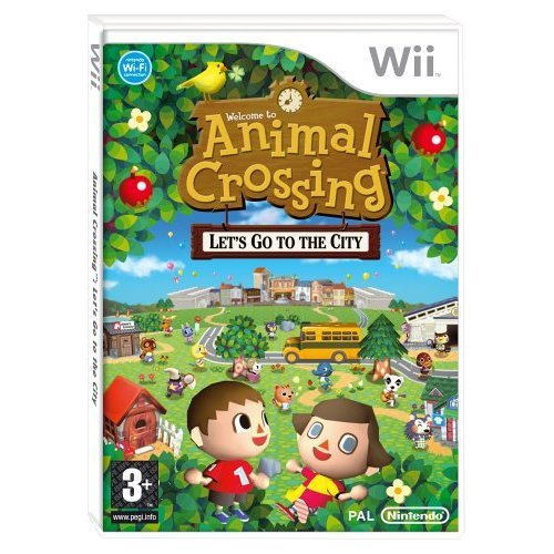 Wii - Animal Crossing: Let's Go To The City (Wii)