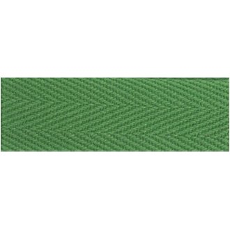 """Products From Abroad 100% Cotton Twill Tape 1.125""""X55yd-Green"""