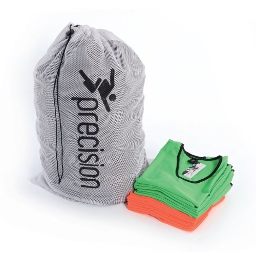 White Sports Bib Wash Carry Bag - Precision Rrp 15 Holds Approx 75 Bibs -  bib bag precision carry wash white rrp 15 holds approx 75 bibs