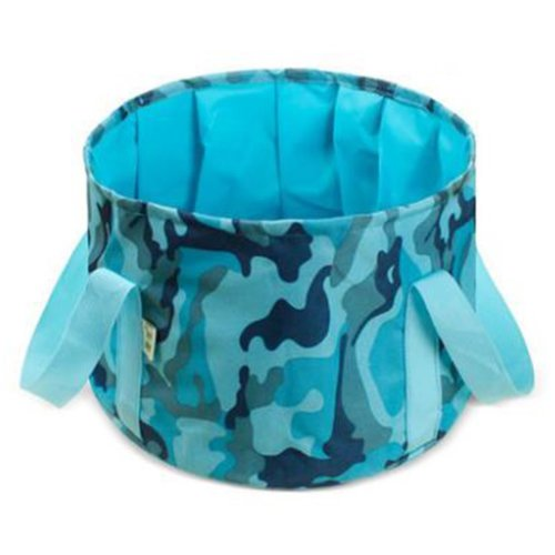 15L Portable Folding Wash Basin Leak-proof Foldable Bucket Footbath Basin with Carrying Pouch #8