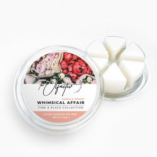 Wax Melt Wedges, 45g - Whimsical Affair (Vanilla Peony)