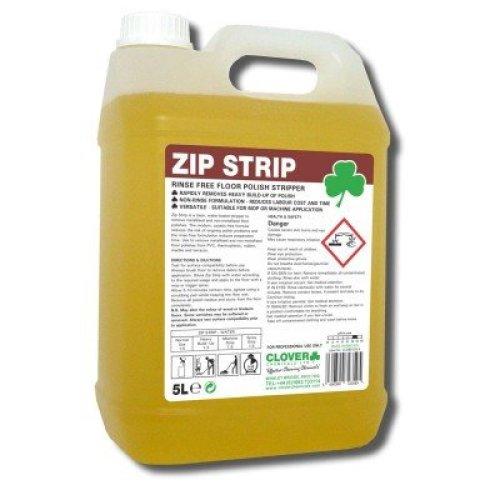 Zip Strip Clear Rinse-Free Floor Water Stripping Clean Floor Polish Stripper 5L