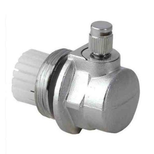 """Radiator Auto Automatic Air Vent 1"""" (g1 Inch) Cut-off Valve Left or Right Thread"""