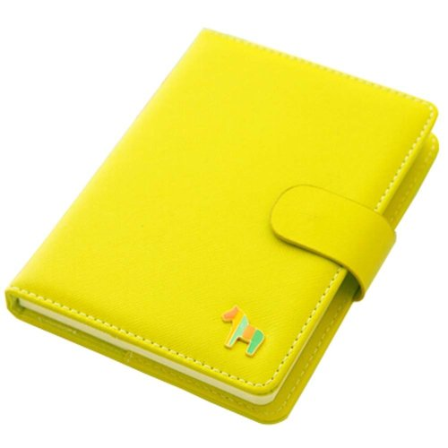 Green Notebook Portable Office Mini Pocket Portable Schedule Personal Organizer