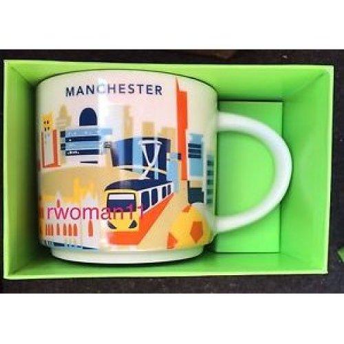 Starbucks You Are Here Mug Manchester