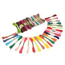 8m 40 Different Colors Cross-stitch Thread DIY handcraft Embroidery Knitting Threads
