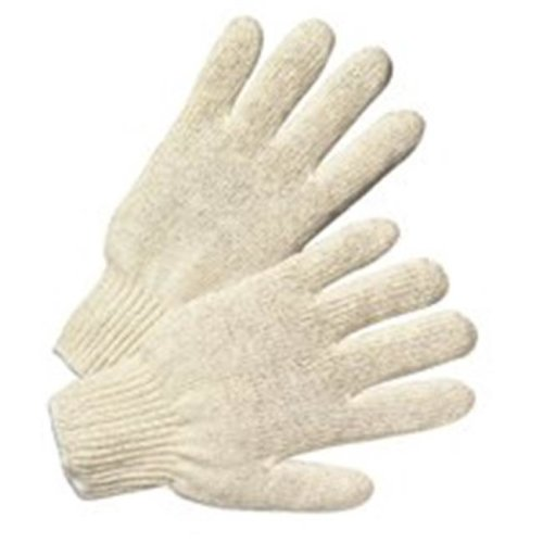 Standard String Knit Poly & Cotton Gloves - Small