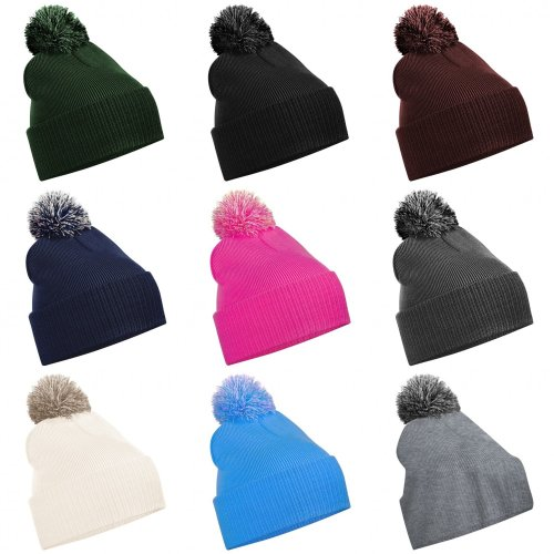 Beechfield Girls Snowstar Duo Extreme Winter Hat