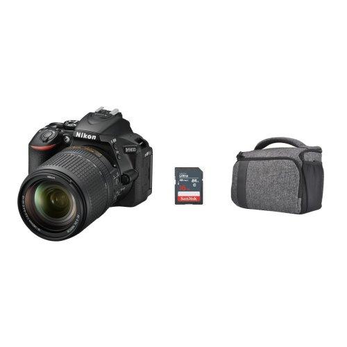 NIKON D5600 KIT AF-S 18-140mm F3.5-5.6G ED VR DX + Bag + 16gb SD card