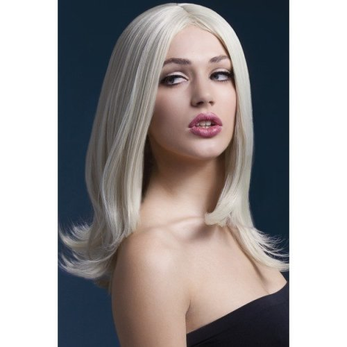 Fever Women's Sophia Wig, One Size, Blonde - Wig Layered Fancy Dress 17 Smiffys -  wig fever sophia blonde layered fancy dress 17 smiffys