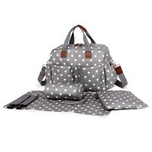 Miss Lulu Polka Dot Baby Nappy Diaper Changing Bag