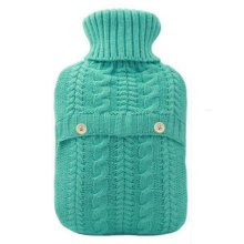 2LWarm Cute Hot-Water Bottle Water Bag Water Injection Handwarmer Pocket Cozy Comfort,B