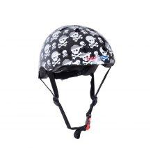 Kiddimoto Children's Bike / Scooter / Skateboarding Helmet - Skullz Design