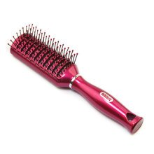 Adults/Kids Anti-static Hair Chop Comb No More Tangle Red