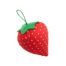 Set of 4 Pin Cushions for Needlework - Strawberry