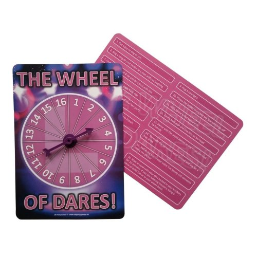 Hen Night Party Games - the Wheel of Dares!