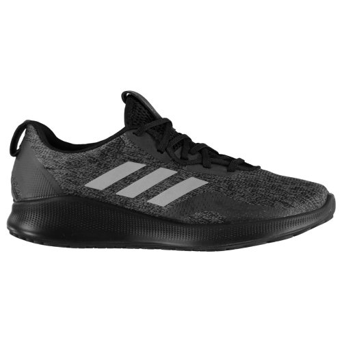 adidas Purebounce Plus Womens Running Shoes Trainers Black/Grey Athleisure