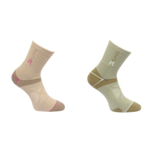 Regatta Great Outdoors Womens/Ladies Blister Protection Walking Socks