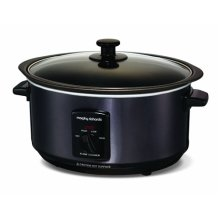 Morphy Richards Sear and Stew Slow Cooker 3.5L - Black (Model No 48703)