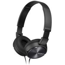 Sony Foldable Stereo Headphones - Metallic Black