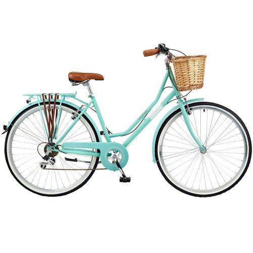 "Viking Belgravia Ladies Womens Heritage Bike Bicycle Turquoise 700c 6 Speed 22"""