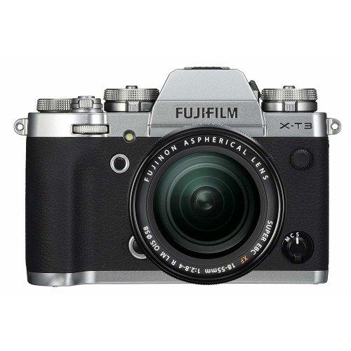 FUJI X-T3 Silver KIT XF 18-55mm F2.8-4R Black