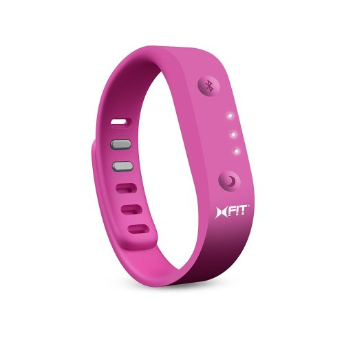 Pink X-Fit Fitness Band | Bluetooth Activity Tracking Band
