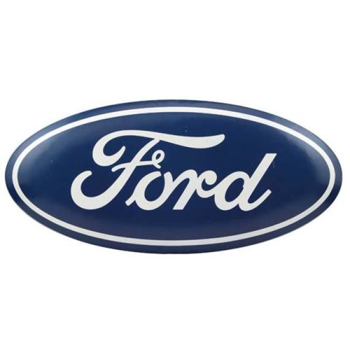Ford 90155694-S Oval Tin Button
