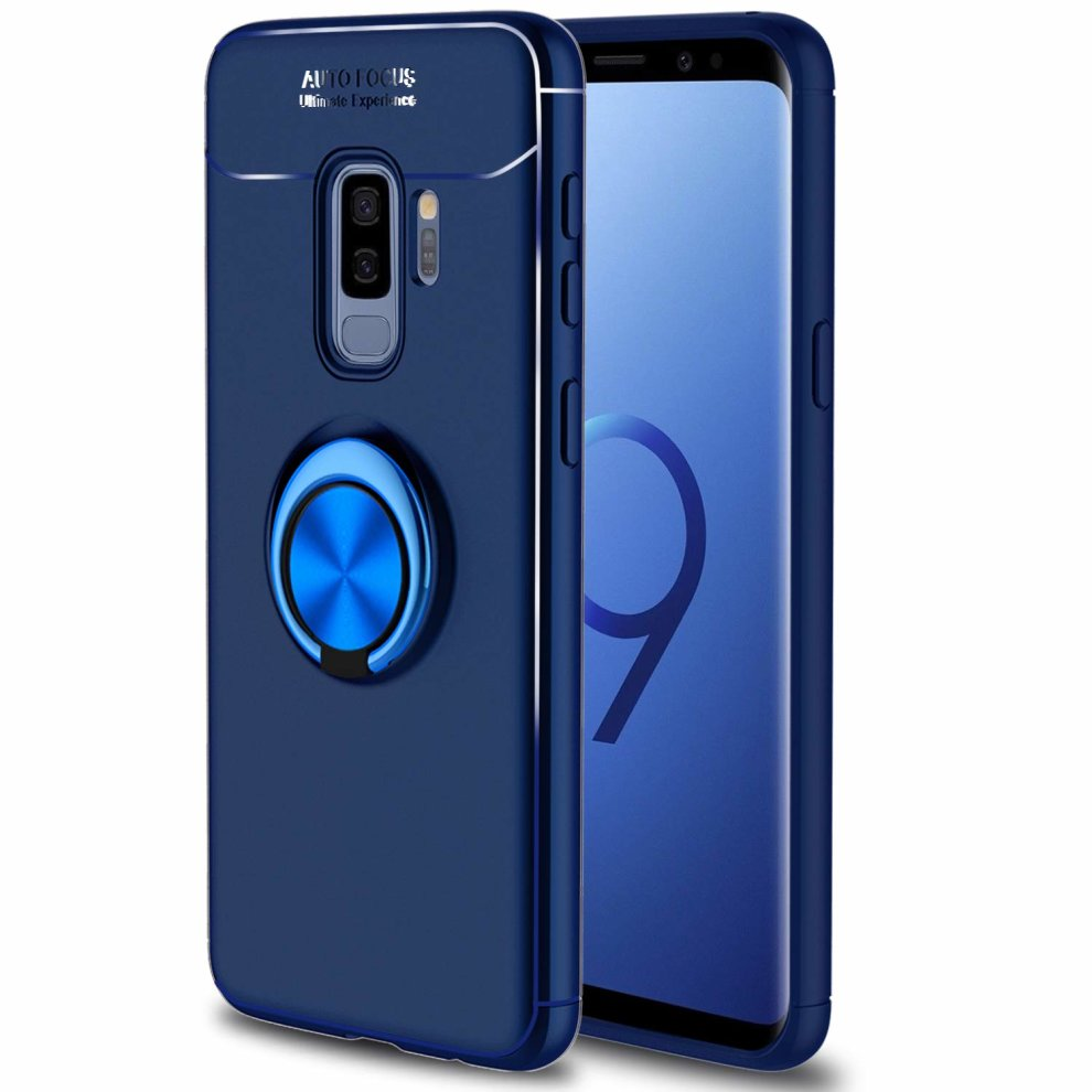 san francisco dc0f4 ffb4b Innens for Samsung Galaxy S9 Plus Case, Galaxy S9+ Case, [Anti-Scratch]  [Shockproof] Slim 360 Degree with Rotation Metal Finger Ring Holder...