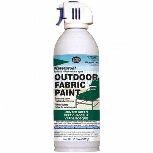 OF0046-5M Outdoor Spray Fabric Paint - 13.3 oz., Hunter Green