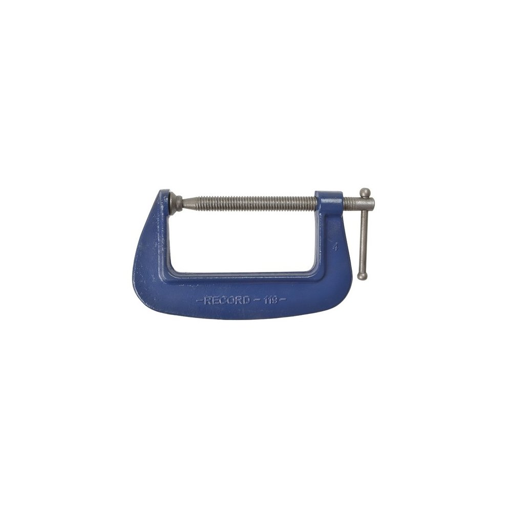 Irwin Record 119 Medium-duty Forged G Clamp 4in