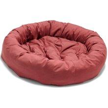 Dog Gone Smart Donut Bed Red 107cm