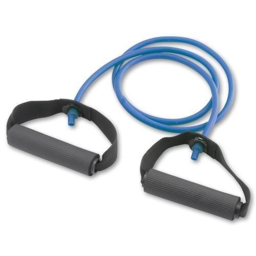 EXERCISE TUBE W/ HANDLES - BLUE