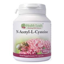 N-Acetyl-L-Cysteine (NAC) 500mg x 90 capsules - (Magnesium Stearate Free)