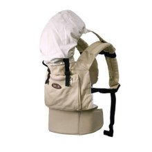 Popular Cotton Baby Newborn Carrier Infant With Adjustable Hat(Light-Yellow)