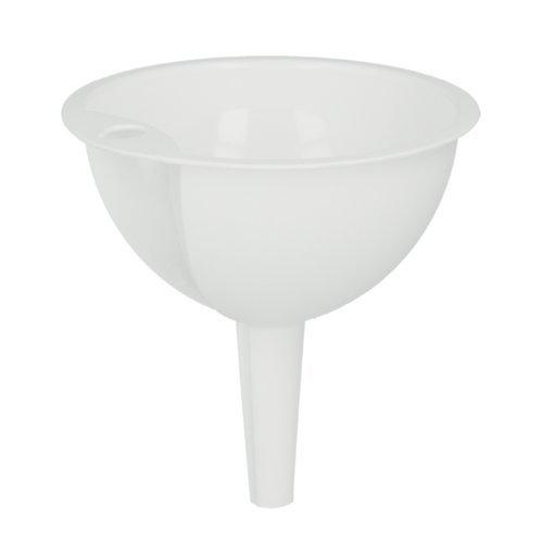 Metaltex Plastic Funnel, White, 10 cm